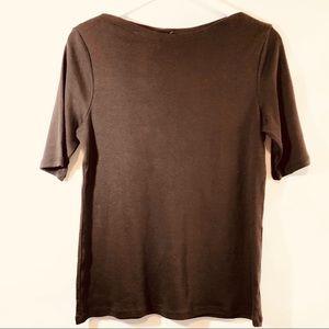 Charter Club Crew Neck T shirt sz M NWT